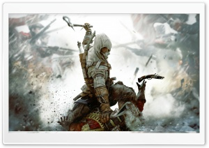 Assassins Creed III HD Wide Wallpaper for Widescreen