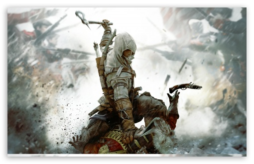 Assassins Creed III HD wallpaper for Wide 16:10 5:3 Widescreen WHXGA WQXGA WUXGA WXGA WGA ; HD 16:9 High Definition WQHD QWXGA 1080p 900p 720p QHD nHD ; Standard 4:3 5:4 3:2 Fullscreen UXGA XGA SVGA QSXGA SXGA DVGA HVGA HQVGA devices ( Apple PowerBook G4 iPhone 4 3G 3GS iPod Touch ) ; Tablet 1:1 ; iPad 1/2/Mini ; Mobile 4:3 5:3 3:2 16:9 5:4 - UXGA XGA SVGA WGA DVGA HVGA HQVGA devices ( Apple PowerBook G4 iPhone 4 3G 3GS iPod Touch ) WQHD QWXGA 1080p 900p 720p QHD nHD QSXGA SXGA ;