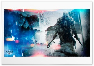 Assassin's Creed III Artwork HD Wide Wallpaper for 4K UHD Widescreen desktop & smartphone