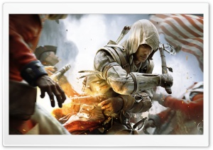 Assassin's Creed III War HD Wide Wallpaper for Widescreen