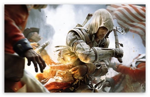 Assassin's Creed III War HD wallpaper for Wide 16:10 5:3 Widescreen WHXGA WQXGA WUXGA WXGA WGA ; HD 16:9 High Definition WQHD QWXGA 1080p 900p 720p QHD nHD ; Standard 4:3 5:4 3:2 Fullscreen UXGA XGA SVGA QSXGA SXGA DVGA HVGA HQVGA devices ( Apple PowerBook G4 iPhone 4 3G 3GS iPod Touch ) ; Tablet 1:1 ; iPad 1/2/Mini ; Mobile 4:3 5:3 3:2 16:9 5:4 - UXGA XGA SVGA WGA DVGA HVGA HQVGA devices ( Apple PowerBook G4 iPhone 4 3G 3GS iPod Touch ) WQHD QWXGA 1080p 900p 720p QHD nHD QSXGA SXGA ;