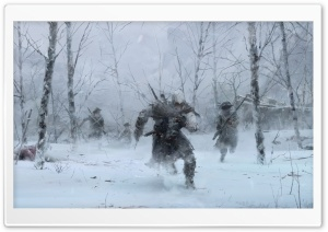 Assassin's Creed III Winter HD Wide Wallpaper for Widescreen