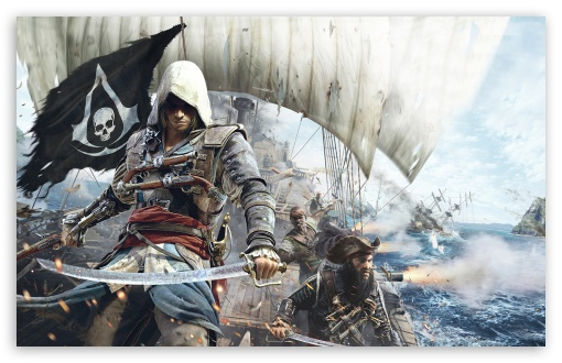 Assassins creed iv black flag 4k hd desktop wallpaper for 4k download assassins creed iv black flag hd wallpaper voltagebd Image collections