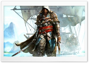 Assassins Creed IV Black Flag Ultra HD Wallpaper for 4K UHD Widescreen desktop, tablet & smartphone