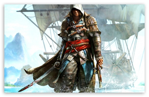 Assassins Creed IV Black Flag HD wallpaper for Wide 16:10 5:3 Widescreen WHXGA WQXGA WUXGA WXGA WGA ; HD 16:9 High Definition WQHD QWXGA 1080p 900p 720p QHD nHD ; Standard 4:3 5:4 3:2 Fullscreen UXGA XGA SVGA QSXGA SXGA DVGA HVGA HQVGA devices ( Apple PowerBook G4 iPhone 4 3G 3GS iPod Touch ) ; Tablet 1:1 ; iPad 1/2/Mini ; Mobile 4:3 5:3 3:2 16:9 5:4 - UXGA XGA SVGA WGA DVGA HVGA HQVGA devices ( Apple PowerBook G4 iPhone 4 3G 3GS iPod Touch ) WQHD QWXGA 1080p 900p 720p QHD nHD QSXGA SXGA ;