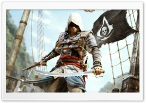 Assassins Creed IV Black Flag HD Wide Wallpaper for Widescreen