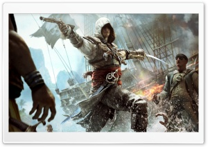 Assassins Creed IV Black Flag Edward Kenway HD Wide Wallpaper for Widescreen