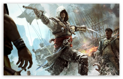 Assassins Creed IV Black Flag Edward Kenway HD wallpaper for Wide 16:10 5:3 Widescreen WHXGA WQXGA WUXGA WXGA WGA ; HD 16:9 High Definition WQHD QWXGA 1080p 900p 720p QHD nHD ; Standard 4:3 5:4 3:2 Fullscreen UXGA XGA SVGA QSXGA SXGA DVGA HVGA HQVGA devices ( Apple PowerBook G4 iPhone 4 3G 3GS iPod Touch ) ; iPad 1/2/Mini ; Mobile 4:3 5:3 3:2 16:9 5:4 - UXGA XGA SVGA WGA DVGA HVGA HQVGA devices ( Apple PowerBook G4 iPhone 4 3G 3GS iPod Touch ) WQHD QWXGA 1080p 900p 720p QHD nHD QSXGA SXGA ;