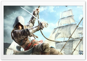 Assassins Creed IV Black Flag Edward Kenway HD Wide Wallpaper for 4K UHD Widescreen desktop & smartphone
