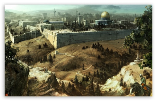 Assassins Creed Jerusalem HD wallpaper for Wide 16:10 5:3 Widescreen WHXGA WQXGA WUXGA WXGA WGA ; HD 16:9 High Definition WQHD QWXGA 1080p 900p 720p QHD nHD ; Standard 4:3 5:4 3:2 Fullscreen UXGA XGA SVGA QSXGA SXGA DVGA HVGA HQVGA devices ( Apple PowerBook G4 iPhone 4 3G 3GS iPod Touch ) ; iPad 1/2/Mini ; Mobile 4:3 5:3 3:2 16:9 5:4 - UXGA XGA SVGA WGA DVGA HVGA HQVGA devices ( Apple PowerBook G4 iPhone 4 3G 3GS iPod Touch ) WQHD QWXGA 1080p 900p 720p QHD nHD QSXGA SXGA ;
