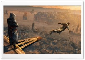 Assassin's Creed Jump HD Wide Wallpaper for Widescreen