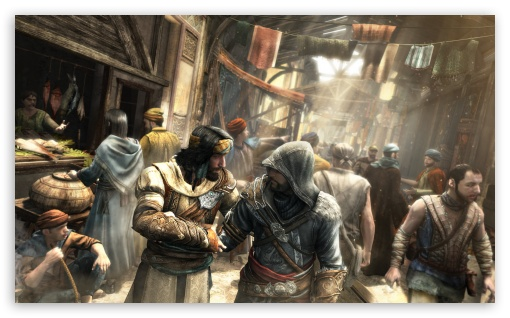 Assassin's Creed Market Scene HD wallpaper for Wide 5:3 Widescreen WGA ; HD 16:9 High Definition WQHD QWXGA 1080p 900p 720p QHD nHD ; UHD 16:9 WQHD QWXGA 1080p 900p 720p QHD nHD ; Standard 4:3 5:4 Fullscreen UXGA XGA SVGA QSXGA SXGA ; iPad 1/2/Mini ; Mobile 4:3 5:3 16:9 5:4 - UXGA XGA SVGA WGA WQHD QWXGA 1080p 900p 720p QHD nHD QSXGA SXGA ;