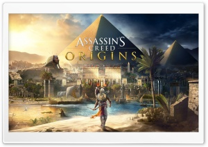 Assassins Creed Origins 2017 8K HD Wide Wallpaper for Widescreen