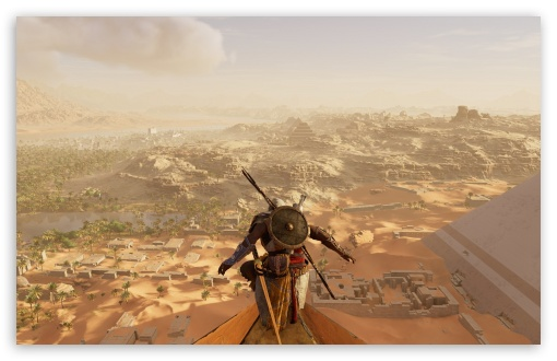 Assassins Creed Origins Ultra Hd Desktop Background
