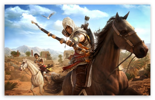 Download Assassins Creed Origins HD Wallpaper