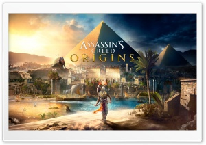 Assassins Creed Origins 4K Ultra HD Wallpaper for 4K UHD Widescreen desktop, tablet & smartphone