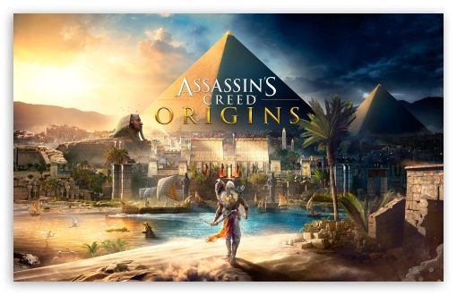 Download Assassins Creed Origins 4K HD Wallpaper