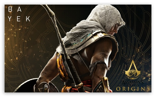 Assassin S Creed Origins Bayek Ultra Hd Desktop Background