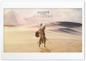 Assassins Creed Origins Bayek HD Wide Wallpaper for Widescreen
