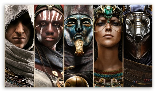 Assassins Creed Origins Characters ❤ 4K UHD Wallpaper for 4K UHD 16:9 Ultra High Definition 2160p 1440p 1080p 900p 720p ; Standard 4:3 Fullscreen UXGA XGA SVGA ; Tablet 1:1 ; iPad 1/2/Mini ; Mobile 4:3 16:9 - UXGA XGA SVGA 2160p 1440p 1080p 900p 720p ;