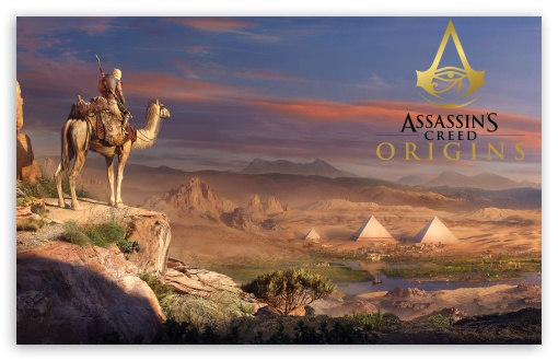 Assassin S Creed Origins Game 2017 8k Ultra Hd Desktop Background