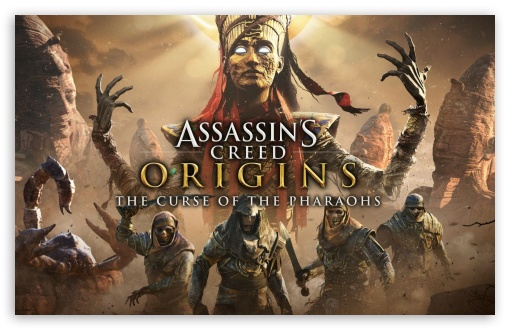 Assassins Creed Origins The Curse Of The Pharaohs ❤ 4K UHD Wallpaper for Wide 16:10 5:3 Widescreen WHXGA WQXGA WUXGA WXGA WGA ; 4K UHD 16:9 Ultra High Definition 2160p 1440p 1080p 900p 720p ; Standard 3:2 Fullscreen DVGA HVGA HQVGA ( Apple PowerBook G4 iPhone 4 3G 3GS iPod Touch ) ; Mobile 5:3 3:2 16:9 - WGA DVGA HVGA HQVGA ( Apple PowerBook G4 iPhone 4 3G 3GS iPod Touch ) 2160p 1440p 1080p 900p 720p ;