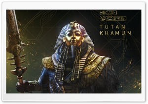 Assassin's Creed Origins The Curse Of The Pharaohs Tutankhamun HD Wide Wallpaper for 4K UHD Widescreen desktop & smartphone