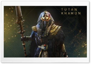 Assassin's Creed Origins Tutankhamun The Curse Of The Pharaohs HD Wide Wallpaper for 4K UHD Widescreen desktop & smartphone