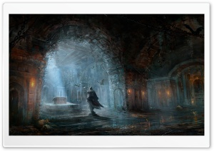 Assassin's Creed Painting HD Wide Wallpaper for Widescreen