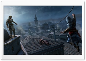 Assassin's Creed Revelations Screenshot HD Wide Wallpaper for Widescreen