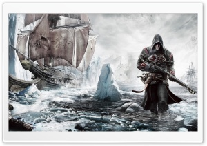 Assassins Creed Rogue HD Wide Wallpaper for 4K UHD Widescreen desktop & smartphone