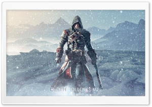 Assassins Creed Rogue - Death Follows Me. HD Wide Wallpaper for Widescreen