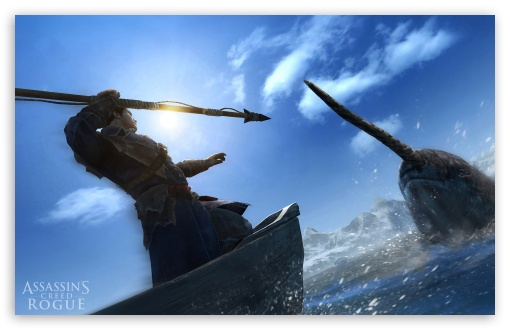 Assassins Creed Rogue Hunting Narwhal ❤ 4K UHD Wallpaper for Wide 16:10 5:3 Widescreen WHXGA WQXGA WUXGA WXGA WGA ; 4K UHD 16:9 Ultra High Definition 2160p 1440p 1080p 900p 720p ; Standard 3:2 Fullscreen DVGA HVGA HQVGA ( Apple PowerBook G4 iPhone 4 3G 3GS iPod Touch ) ; Mobile 5:3 3:2 16:9 - WGA DVGA HVGA HQVGA ( Apple PowerBook G4 iPhone 4 3G 3GS iPod Touch ) 2160p 1440p 1080p 900p 720p ;