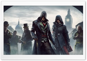 Assassins Creed Syndicate Ultra HD Wallpaper for 4K UHD Widescreen desktop, tablet & smartphone