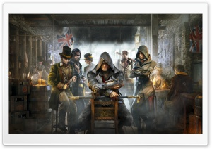 Assassins Creed Syndicate 2015 video Game HD Wide Wallpaper for 4K UHD Widescreen desktop & smartphone
