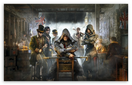 Watch Dogs High Resolution Games Hd Wallpaper For Mobile: Assassin's Creed Syndicate 2015 Video Game HD Desktop
