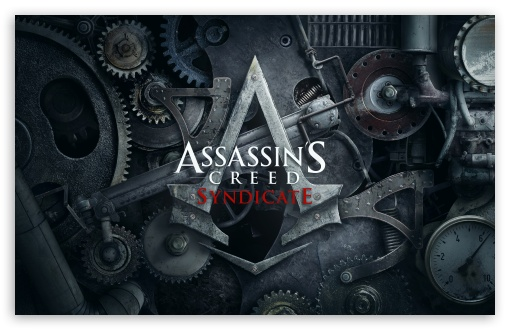 Assassins Creed Syndicate 4k Logo Ultra Hd Desktop Background