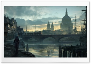 Assassins Creed Syndicate City of London 2015 game HD Wide Wallpaper for Widescreen