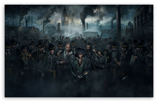Assassins Creed Syndicate Gang 2015 video game ❤ 4K UHD Wallpaper for Wide 16:10 5:3 Widescreen WHXGA WQXGA WUXGA WXGA WGA ; 4K UHD 16:9 Ultra High Definition 2160p 1440p 1080p 900p 720p ; Standard 4:3 5:4 3:2 Fullscreen UXGA XGA SVGA QSXGA SXGA DVGA HVGA HQVGA ( Apple PowerBook G4 iPhone 4 3G 3GS iPod Touch ) ; Smartphone 5:3 WGA ; Tablet 1:1 ; iPad 1/2/Mini ; Mobile 4:3 5:3 3:2 16:9 5:4 - UXGA XGA SVGA WGA DVGA HVGA HQVGA ( Apple PowerBook G4 iPhone 4 3G 3GS iPod Touch ) 2160p 1440p 1080p 900p 720p QSXGA SXGA ; Dual 16:10 5:3 16:9 4:3 5:4 WHXGA WQXGA WUXGA WXGA WGA 2160p 1440p 1080p 900p 720p UXGA XGA SVGA QSXGA SXGA ;