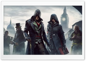 Assassins Creed Syndicate Jacob and Evie HD Wide Wallpaper for 4K UHD Widescreen desktop & smartphone