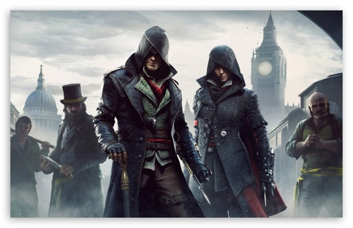 Assassins Creed Syndicate Jacob and Evie ❤ 4K UHD Wallpaper for Wide 16:10 5:3 Widescreen WHXGA WQXGA WUXGA WXGA WGA ; 4K UHD 16:9 Ultra High Definition 2160p 1440p 1080p 900p 720p ; Standard 4:3 5:4 3:2 Fullscreen UXGA XGA SVGA QSXGA SXGA DVGA HVGA HQVGA ( Apple PowerBook G4 iPhone 4 3G 3GS iPod Touch ) ; Tablet 1:1 ; iPad 1/2/Mini ; Mobile 4:3 5:3 3:2 16:9 5:4 - UXGA XGA SVGA WGA DVGA HVGA HQVGA ( Apple PowerBook G4 iPhone 4 3G 3GS iPod Touch ) 2160p 1440p 1080p 900p 720p QSXGA SXGA ; Dual 16:10 WHXGA WQXGA WUXGA WXGA ;