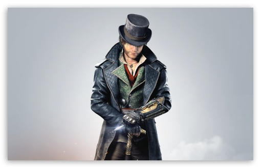 Assassins Creed Syndicate Jacob Frye 2015 video game ❤ 4K UHD Wallpaper for Wide 16:10 5:3 Widescreen WHXGA WQXGA WUXGA WXGA WGA ; 4K UHD 16:9 Ultra High Definition 2160p 1440p 1080p 900p 720p ; UHD 16:9 2160p 1440p 1080p 900p 720p ; Standard 4:3 5:4 3:2 Fullscreen UXGA XGA SVGA QSXGA SXGA DVGA HVGA HQVGA ( Apple PowerBook G4 iPhone 4 3G 3GS iPod Touch ) ; Smartphone 5:3 WGA ; Tablet 1:1 ; iPad 1/2/Mini ; Mobile 4:3 5:3 3:2 16:9 5:4 - UXGA XGA SVGA WGA DVGA HVGA HQVGA ( Apple PowerBook G4 iPhone 4 3G 3GS iPod Touch ) 2160p 1440p 1080p 900p 720p QSXGA SXGA ; Dual 16:10 5:3 16:9 4:3 5:4 WHXGA WQXGA WUXGA WXGA WGA 2160p 1440p 1080p 900p 720p UXGA XGA SVGA QSXGA SXGA ;