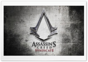 Assassins Creed Syndicate Logo Ultra HD Wallpaper for 4K UHD Widescreen desktop, tablet & smartphone