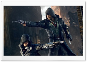 Assassins Creed Syndicate Twin Assassins HD Wide Wallpaper for Widescreen