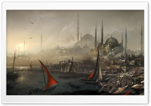 Assassin's Creed The City Port HD Wide Wallpaper for Widescreen