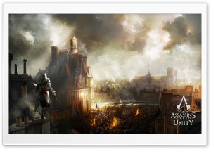 Assassins Creed Unity HD Wide Wallpaper for Widescreen