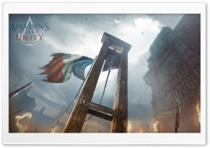 Assassins Creed Unity 2014 game HD Wide Wallpaper for 4K UHD Widescreen desktop & smartphone