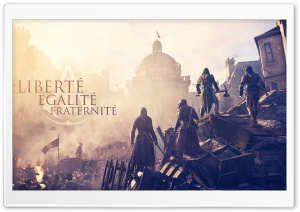 Assassins Creed Unity Ultra HD Wallpaper for 4K UHD Widescreen desktop, tablet & smartphone