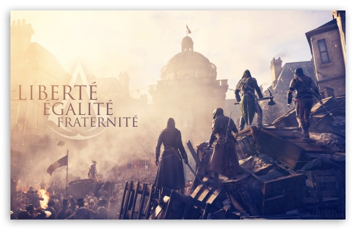 Download Assassins Creed Unity UltraHD Wallpaper