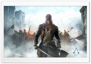 Assassin's Creed Unity HD Wide Wallpaper for Widescreen